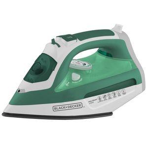 Ferro a Vapor Black+Decker AJ3030 Branco/Verde Turquesa