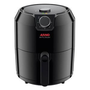 Fritadeira Elétrica sem Óleo Arno AirFry Super 4,2L 1400W Preta