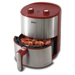 Fritadeira Elétrica sem Óleo Philco Air Fry Redstone PFR10VI 3,2L 1500W Vermelha