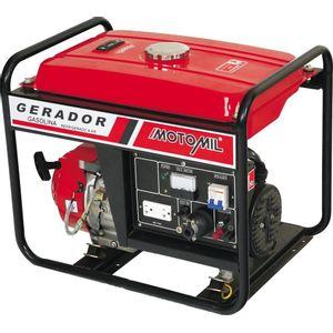 Gerador de Energia à Gasolina Motomil MG-1200CL 4T Partida Manual Retrátil