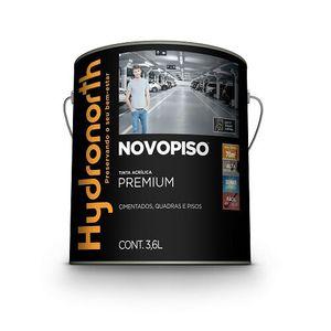 Tinta Hydronorth Novopiso Premium 3,6L Cinza Chumbo Fosco