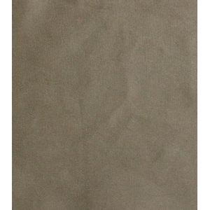 Capa de Almofada Diagonal Veludo Liso 43x43cm Kaqui