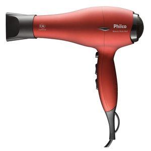 Secador de Cabelos Philco Beauty Style Red 1900W Vermelho