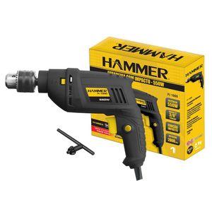 "Furadeira 3/8"" Hammer FI1000 550W"