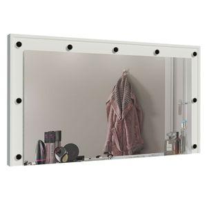 Painel para Penteadeira Camarim Madesa com Espelho Branco