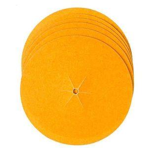 Disco de Lixa para Madeira Bosch 130mm Grão 80 6 Peças
