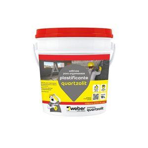 Aditivo Impermeabilizante Plastificante 18L Quartzolit