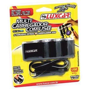 Carregador Luxcar Multi USB