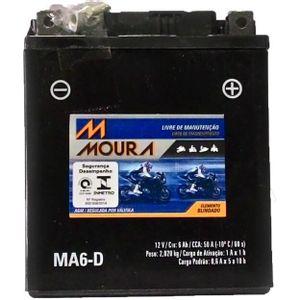 Bateria Moura 6Ah MA6-D