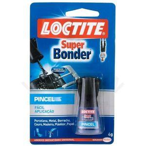Adesivo Instantâneo Henkel Super Bonder Pincel 4g Incolor