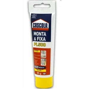 Adesivo Monta & Fixa PL500 Interno Henkel Cascola 85g Branco