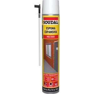 Espuma Expansiva Soudal PU Manual 750ml 690g