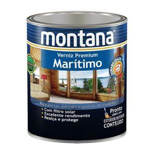 Verniz Montana Marítimo Premium 900ml Transparente Acetinado