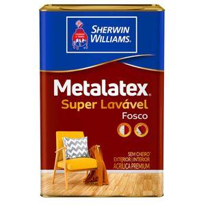 Tinta Sherwin Williams Metalatex Premium 18L Branco Fosco