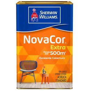 Tinta Sherwin Williams Novacor Standard 18L Branco Fosco