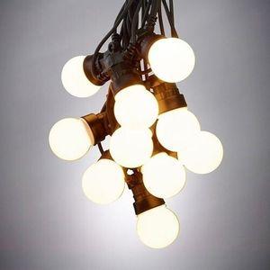 Cordão Luminoso Taschibra 10 LEDS 3000K 10m Preto