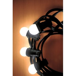 Cordão Luminoso Taschibra 10 LEDS 6500K 10m Preto