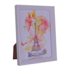 Porta Retrato Diagonal Eiffel 15x20cm Branco