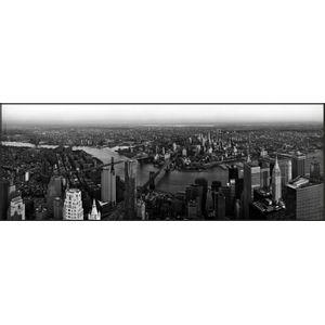 Quadro Diagonal City 03 47x124cm