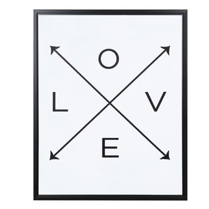 Quadro Canvas Mart Collection Love 50x40cm