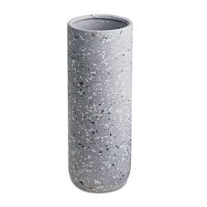Vaso Mart Collection Cerâmica Cinza 10534