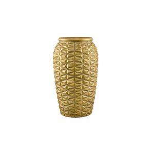 Vaso Mart Collection Cerâmica Dourado Old 6871