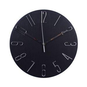 Relógio de Parede Diagonal 30cm Zoe Preto