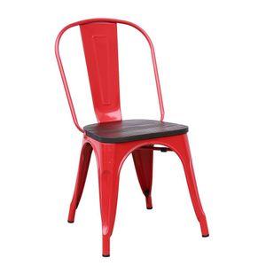 Cadeira Diagonal Galattia Vermelha