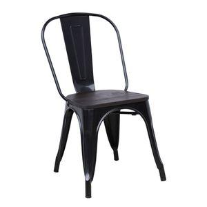 Cadeira Diagonal Galattia Preta LR-9001-EM