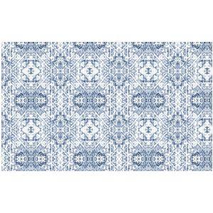 Tapete Diagonal 0,44x1,2m Azulejo Português