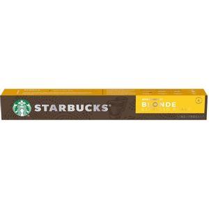 Starbucks Nespresso Blonde Espresso Roast 10 Cápsulas