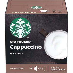 Starbucks Dolce Gusto Cappuccino 12 Cápsulas