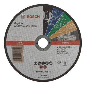 Disco de Corte Bosch Multiconstrução 180x1,0mm