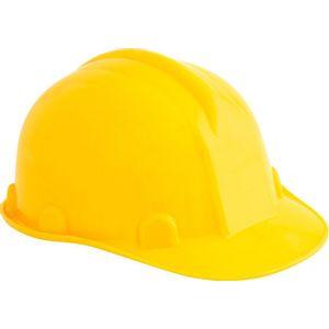 Capacete de Proteção Vonder com Carneira Amarelo