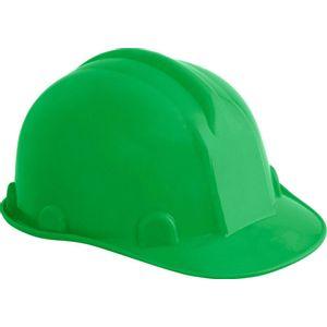 Capacete de Proteção Vonder com Carneira Verde