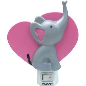 Luz Noturna Avant Elefante 3000K Bivolt