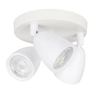 Spot Vitralux Focus 3 Lâmpadas 7W 3000k Branco