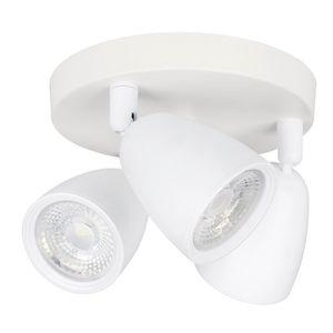 Spot Vitralux Focus 3 Lâmpadas 7W 6500k Branco