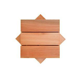 Deck Modular Madvei 30x30cm Saligna Natural