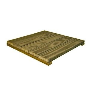 Deck Modular Madvei 50x50cm Pinus Autoclavado