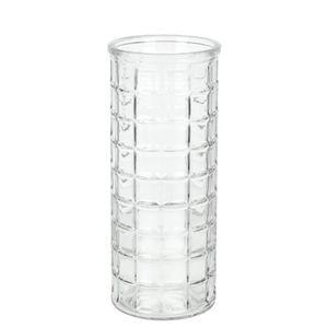 Vaso de Vidro Grillo Redondo 25x10cm 47948