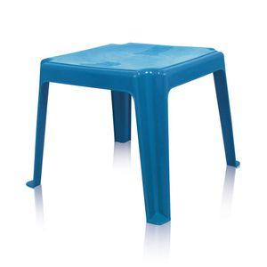 Mesa de Plástico Antares Infantil Decorada Quadrada 45cm Azul