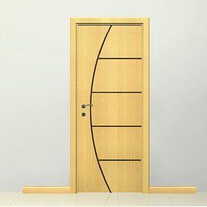 Porta de Abrir Madeira Angelim Pinhal 2,1x0,6m PI001