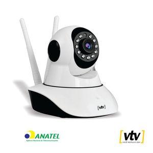 Câmera de Segurança Wi-Fi HD VTV Digital Pantilt IP