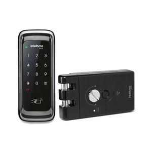 Fechadura Digital Intelbras FR 210 para Porta de Correr com Senha e Tag