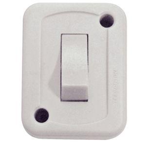 Interruptor Tramontina 1 Módulo Simples 10A Branco