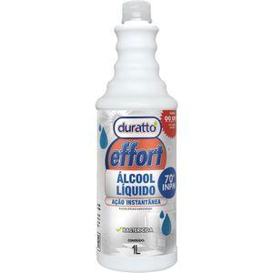 Álcool 70 Duratto Effort Bactericida 1L