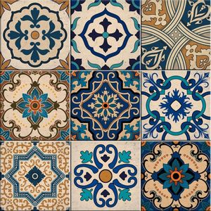 Faixa Decorativa Sofistiq 15x15cm Estoril