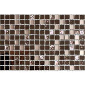 Pastilha de Vidro Glass Mosaic Mirror 30x30cm Rose Gold
