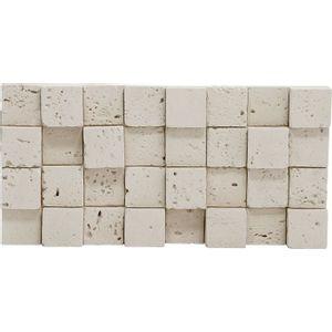 Revestimento Passeio Center Tibur Mosaico 23,7x11,7cm Bege